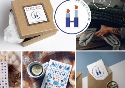 Logo & Identité visuelle – Hooga Shop