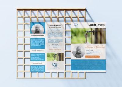 Design flyer immobilier